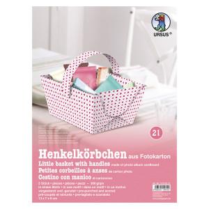 """Henkelkörbchen """"Tiny"""" Herzen"""