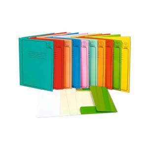 Hochglanz-Sammelmappen DIN A4 sortiert