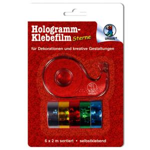 "Hologrammfolie-Klebefilm ""Sterne"""