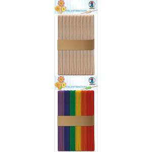 Holzstäbchen, 15 x 1 cm, 50 Stk.