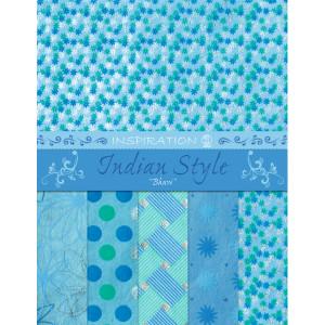 "Indian Style ""Bhuvi"" 21,6 x 28 cm - 5 Blatt sortiert"