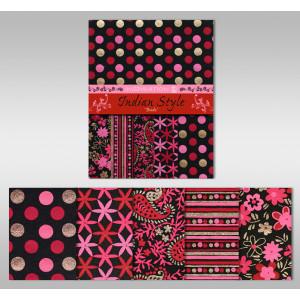 "Indian Style ""Bindu"" 21,6 x 28 cm - 5 Blatt sortiert"