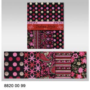"""Indian Style """"Bindu"""" 23 x 33 cm - 5 Blatt"""