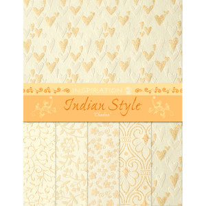 "Indian Style ""Chadna"" 23 x 33 cm - 5 Blatt"