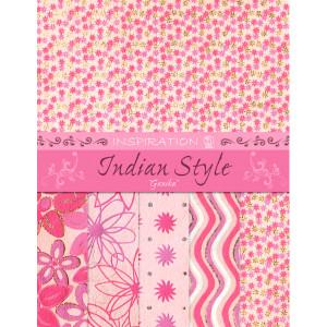 "Indian Style ""Ganika"" 21,6 x 28 cm - 5 Blatt sortiert"