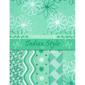"Indian Style ""Ila"" 21,6 x 28 cm - 5 Blatt sortiert"
