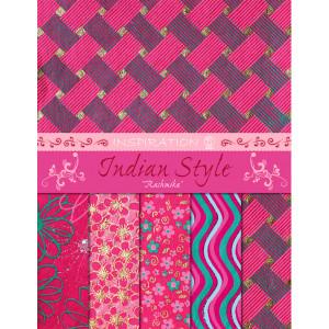 """Indian Style """"Rashmika"""" 21,6 x 28 cm - 5 Blatt sortiert"""