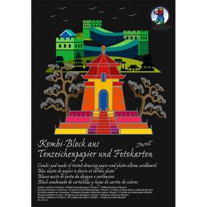 "Kombi-Block ""Sonderedition"" Pastellfarben 23 x 33 cm - 20 Blatt kombiniert"