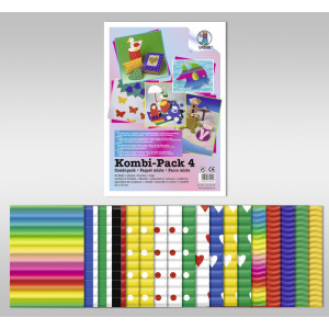 Kombi Pack 4 - Bastellwellpappe