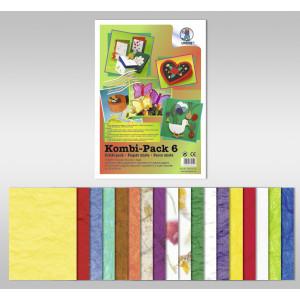 "Kombi-Pack 6 ""Naturpapier"""