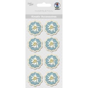 "Kreativ Accessoires ""Alpenchic"" Blüten"
