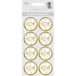 """Kreativ Accessoires """"Charity"""" gold Fisch - Motiv 297"""