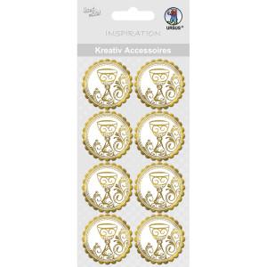 "Kreativ Accessoires ""Charity"" gold Kelch - Motiv 299"