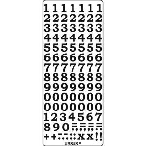 """Kreativ Sticker """"Zahlen 2"""" schwarz"""