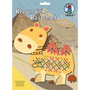 Kreuzstich-Bastelset Kamel