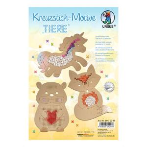 "Kreuzstich-Motive ""Tiere"""