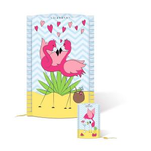 "Lampen Komplettset Mini ""Flamingo"""