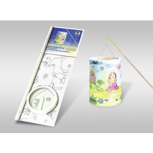 """Laternen-Bastelset 13 mit Transparentpapier zum Ausmalen """"Prinzessin"""""""