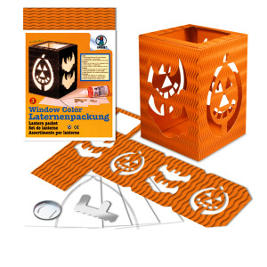"Laternen-Packung ""Form 3"" Halloween"