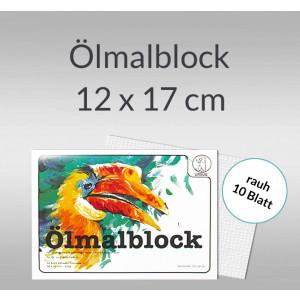 Ölmalkartonblock 230 g/qm 12 x 17 cm