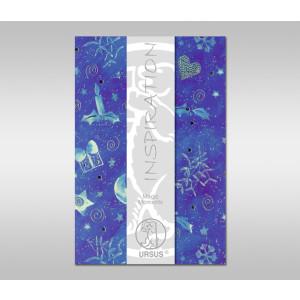 "Magic Moments ""Star Night"" 120 g/qm 45 x 69 cm - 1 Bogen"