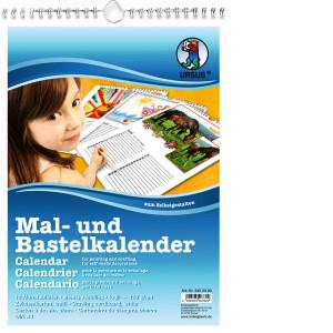 Mal- und Bastelkalender DIN A4
