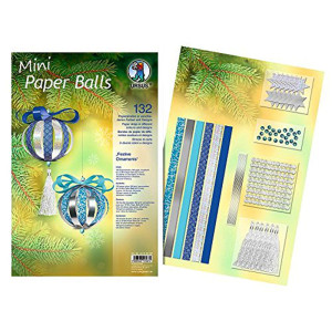 "Mini Paper Balls ""Festive Ornaments"""