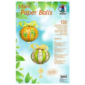 "Mini Paper Balls ""Millefleurs"""
