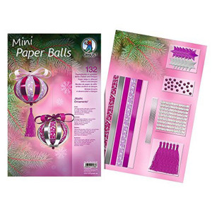 "Mini Paper Balls ""Mystic Ornaments"""