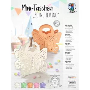 """Mini-Taschen """"Schmetterling"""" - 5er Set"""
