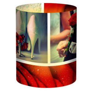 """Mini-Tischlichter """"Ambiente"""" Hochzeit Klassik - Motiv 132"""