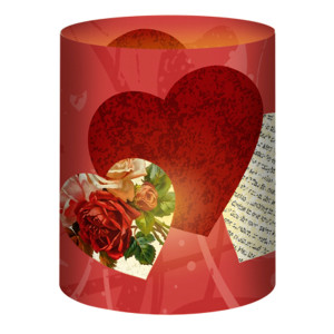 """Mini-Tischlichter """"Ambiente"""" Love - Motiv 144"""