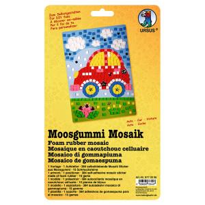 """Moosgummi Mosaik """"Auto"""""""