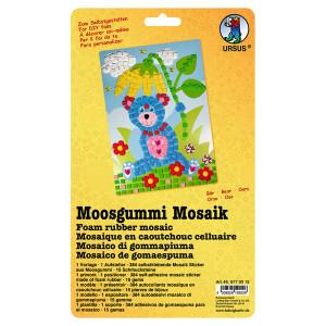 """Moosgummi Mosaik """"Bär"""""""
