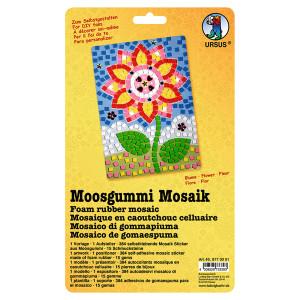"""Moosgummi Mosaik """"Blume"""""""