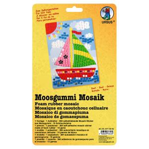 "Moosgummi Mosaik ""Boot"""