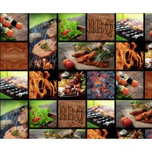 Motiv-Fotokarton 49,5 x 68 cm Barbecue