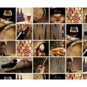 Motiv-Fotokarton 49,5 x 68 cm Drinks