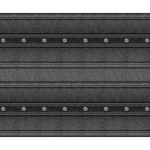 Motiv-Fotokarton 49,5 x 68 cm Leder schwarz