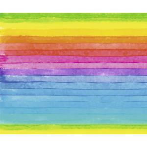 Motiv-Fotokarton 49,5 x 68 cm Regenbogen