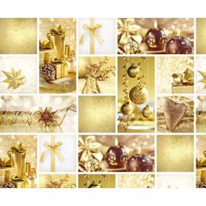 """Motiv-Fotokarton 49,5 x 68 cm """"Weihnachten"""" gold"""