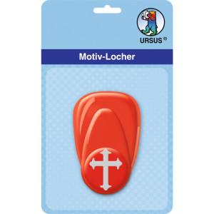"""Motiv-Locher """"klein"""" Kreuz 1"""