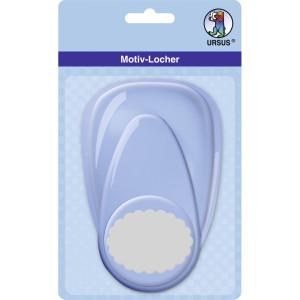 "Motiv-Locher ""maxi"" Oval Bogenlinie"