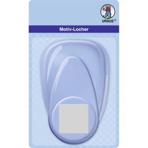 """Motiv-Locher """"maxi"""" Quadrat"""