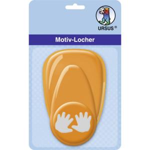 """Motiv-Locher """"mittel"""" Baby-Hände"""