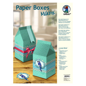 "Paper Boxes ""Lovely Birds"""