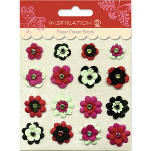 Paper Flower Brads Motiv 05