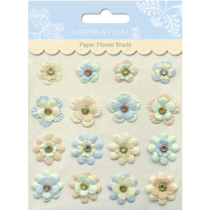 Paper Flower Brads Motiv 06