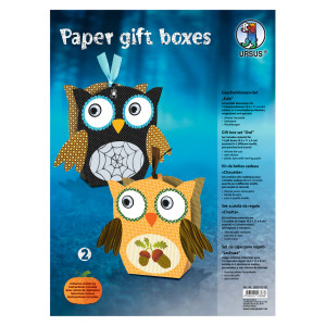 "Paper Gift Boxes ""Eule 2"""