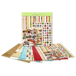 """Paper Kit """"Autos"""" 30,5 x 30,5 cm"""